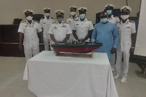 The  project work will be the first locally manufactured fibre plastic and local boat