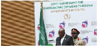 Nana Addo Dankwa Akufo-Addo was at the 28th Ordinary Session of the Assembly of AU
