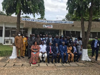 Stakeholders in a group picture
