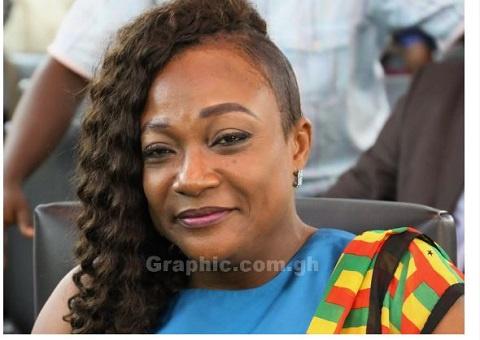 Minister for Gender, Children and Social Protection, Hon Otiko Afisah Djaba