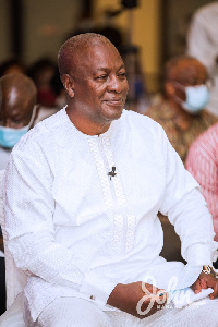 John Mahama was the Special Guest of Honour at the CSJ event