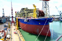 FPSO Kwame Nkrumah is a floating production storage and offloading (FPSO) vessel
