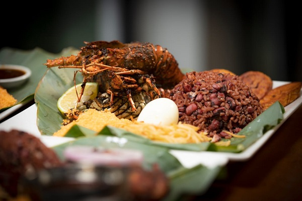 Waakye With Lobster And Lamb Check Out Zen Gardens Easter Special