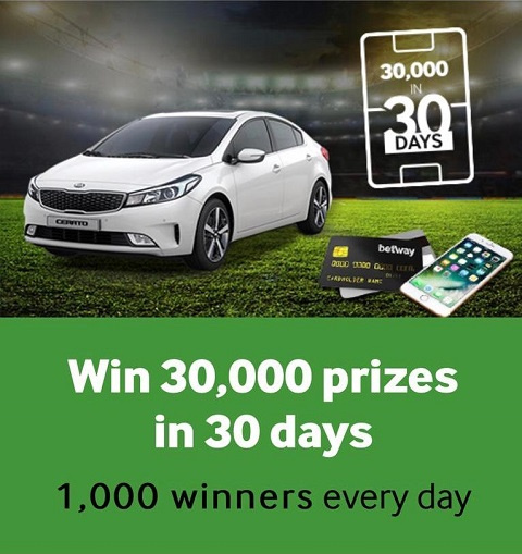 Betway are giving their Ghanaian players the chance to win a brand new Kia Cerato