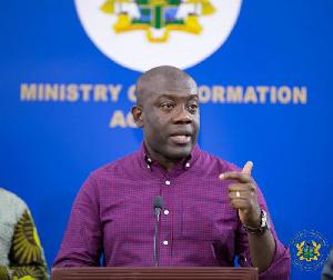 Information Minister, Kojo Oppong Nkrumah