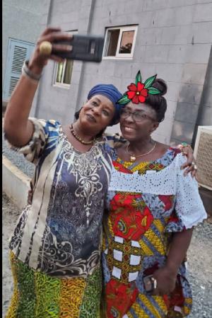 Nana Adwoa Awindor and Member of Parliament for Ketu South, Dzifa Gomashie
