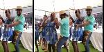 Abeiku Santana goes 'crazy' in the midst of SHS girls