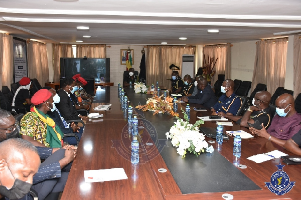 #FixTheCountry conveners meet Ag. IGP after demo