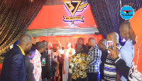 The event was heavily attended by Ghanaian celebrities