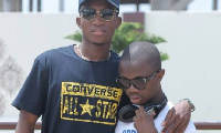 Kofi Kinaata and Morgan