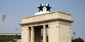 File Photo Ghana's Independence Square
