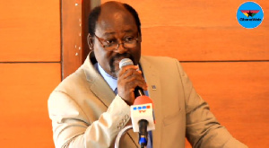 Professor Kwabena Anang, the Director at the Noguchi Memorial Institute for Medical Research