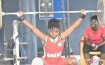 Winnifred Ntumi won bronze in the Women