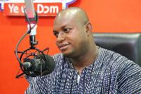 Former Ashanti Regional Youth Organizer of NDC, Ernest Brogya Genfi