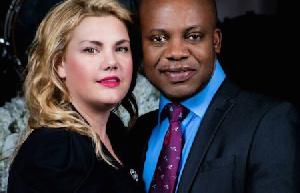 Charmaine Adusah and husband