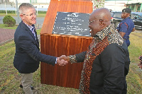 President Akufo-Addo has commissioned Cargill's solar plant