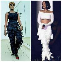 Nana Akua Addo and Rihanna