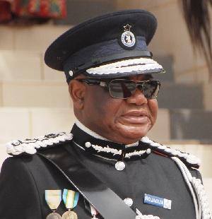 IGP John Kudalor was at the presidency on Wednesday to bid farewell to President Akufo-Addo