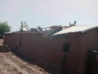 Torrential rains at Zabzugu rendered several residents homeless