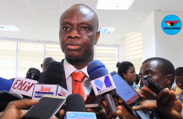 Joe Anokye is the National Communications Authority boss