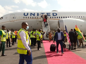 United Airlines first came to Ghana on June 21, 2010 and left after two years of operations in 2012
