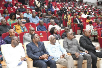 Some participants at the forum