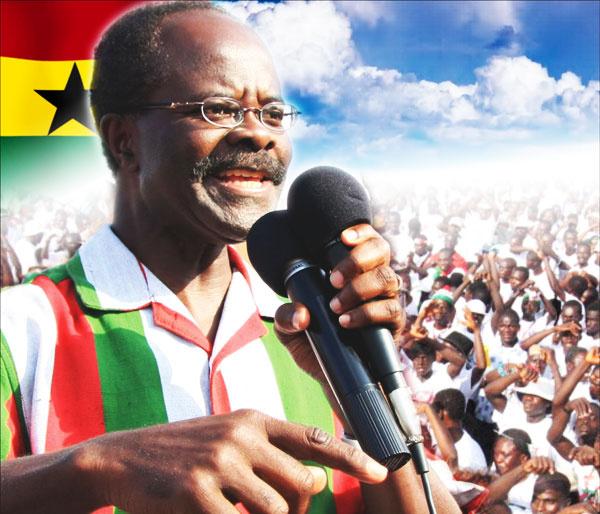 Dr. Papa Kwesi Nduom is the flag-bearer of the Progressive People