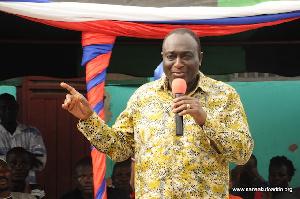 Alan Kyerematen Campaigns At Volta