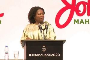 NDC Running Mate, Professor Naana Jane Opoku-Agyemang