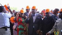 Energy Minister Boakye Agyarko at the launch