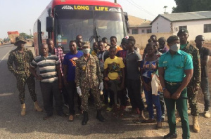 Burkina Faso nationals arrested in an O.A bus