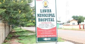 Premises of the Lawra Municipal Hospital