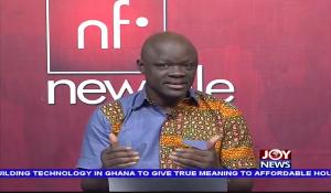 Samson Lardy Anyenini is host of Newsfile on JoyNews