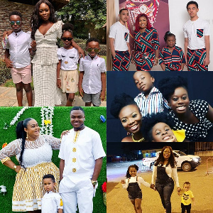 Ghanaian female personalities and their children