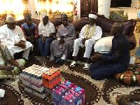 Twellium industrial company presented products to Dr. Sheikh Osman Nuhu Sharubutu