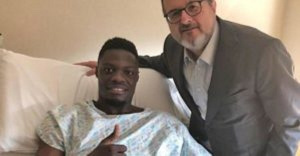 The Black Stars striker is expected to be out for up  at least 6 weeks