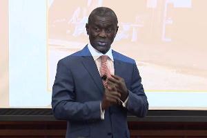 Founder of defunct UT bank, Prince Kofi Amoabeng
