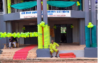 The new library at Krofrom in the Ashanti Region