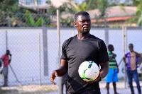 Samuel Boadu, Head Coach of Accra Hearts of Oak