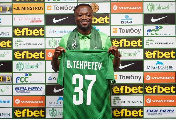 Bernard Tekpetey scores and assist in Ludogorets win