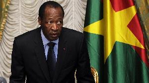 Blaise Compaore, di former president of Burkina Faso