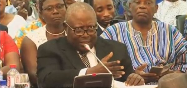 Mr. Amidu says despite persuasion he refused to accept an offer to be a Supreme Court judge in 1999.