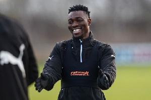 Christian Atsu was involved in Newcastle's win over Manchester City