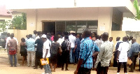 Some Ghanaians seeking to replace or acquire new passports were left stranded
