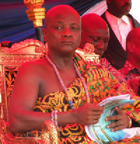 Togbe Afede XIV, Agbogbomefia of Asogli