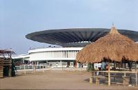 Trade Fair building in Accra
