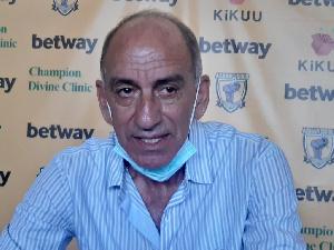 AshantiGold Head Coach, Milovan Cirkovic