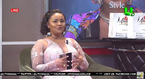 Nana Ama McBrown is the host United Showbiz on UTV