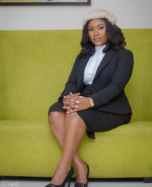 Claudia Kesse Boateng is a lawyer and entrepreneur