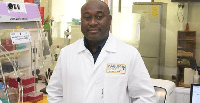Director of the West African Center for Cell Biology of Infectious Pathogens, Prof Gordon Awandare